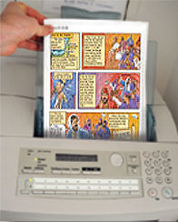 Print out Illustrated Bible